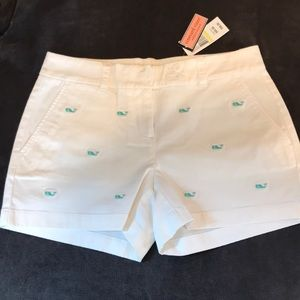 NWT Vineyard Vines whale embroidered shorts